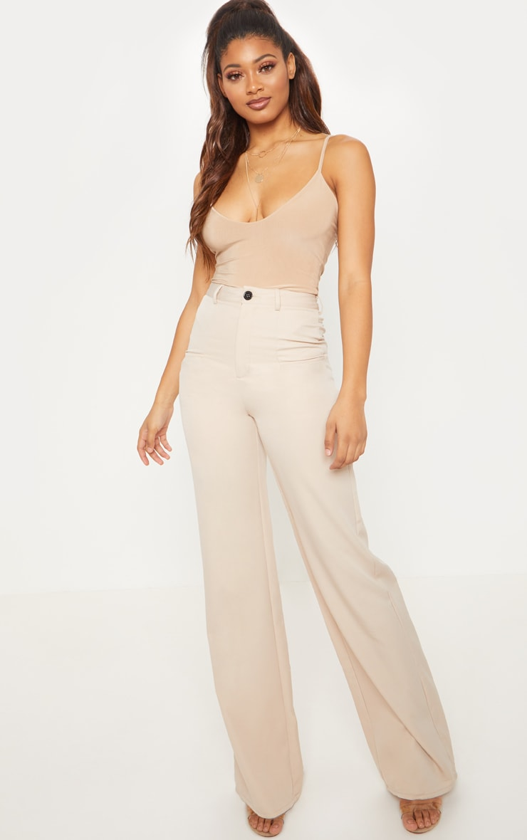 Tall Stone Pocket Detail Wide Leg Pants 1