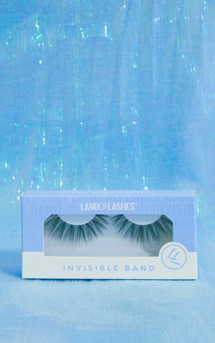 Land of Lashes Esmee Invisible Band False Lash 1