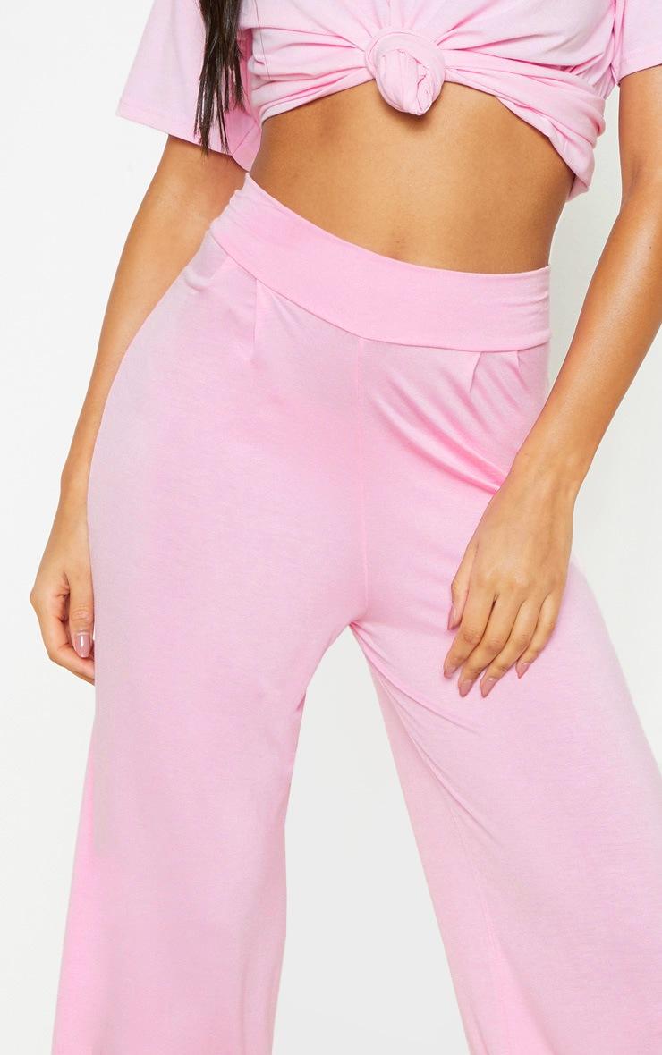 Pale Pink Basic Culotte 5