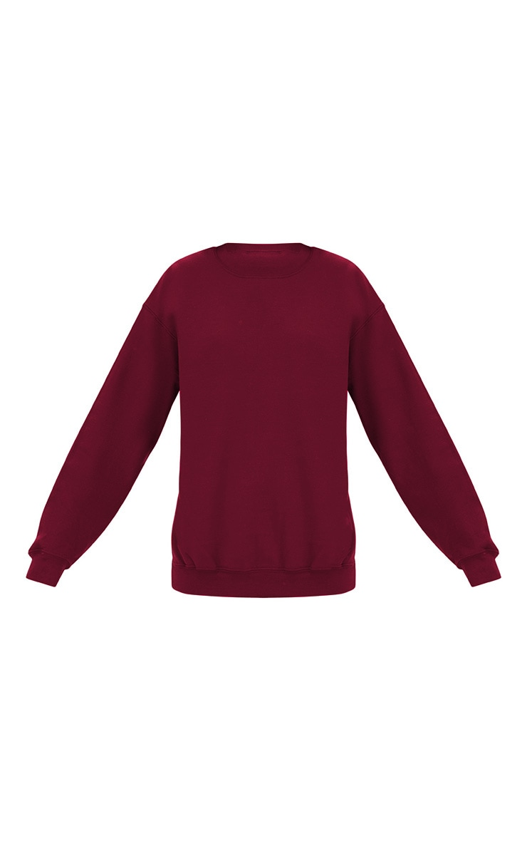Maroon Ultimate Oversized Sweater 3