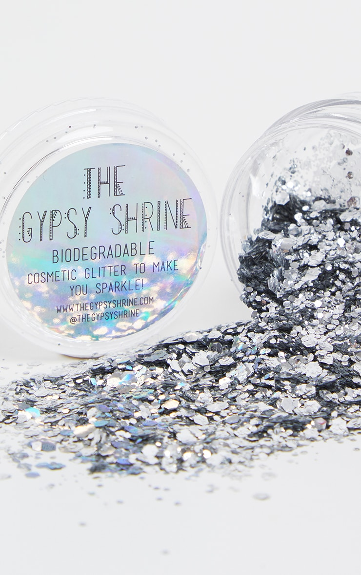 SHRINE Biodegradable Chunky Silver Glitter 1