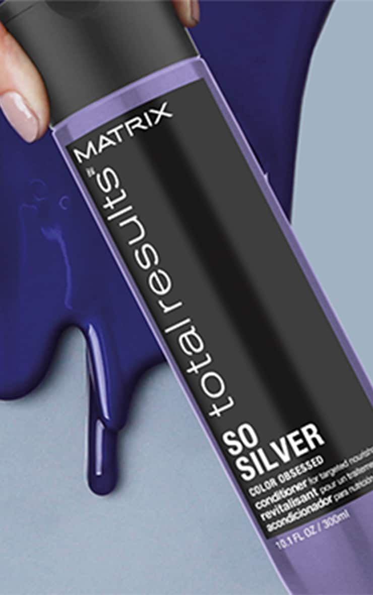 Matrix Total Results Color Obsessed So Silver Conditioner Blonde Hair 300ml 4