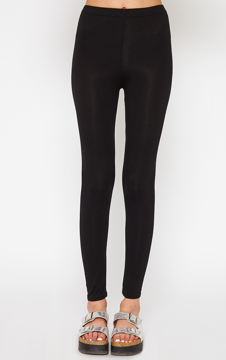 Basic Black Leggings 2