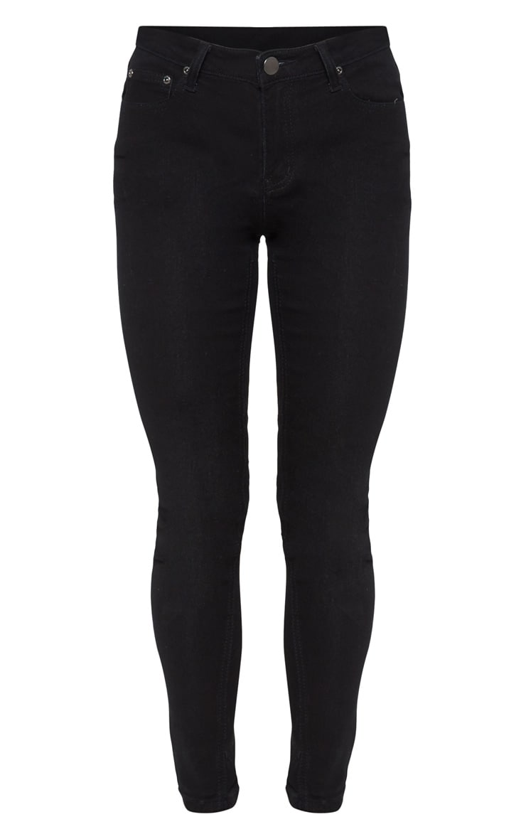 Black Skinny Fit Jean  3
