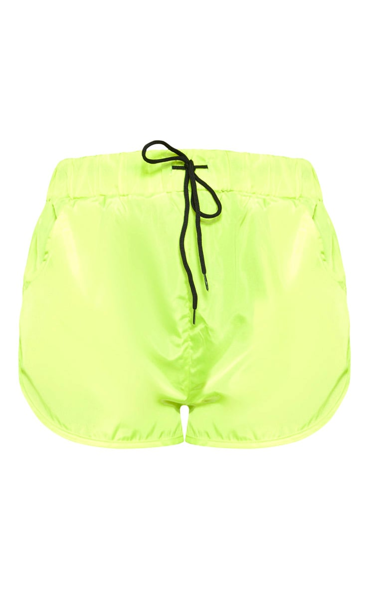 Lime Shell Pocket Detail Runner Short 3
