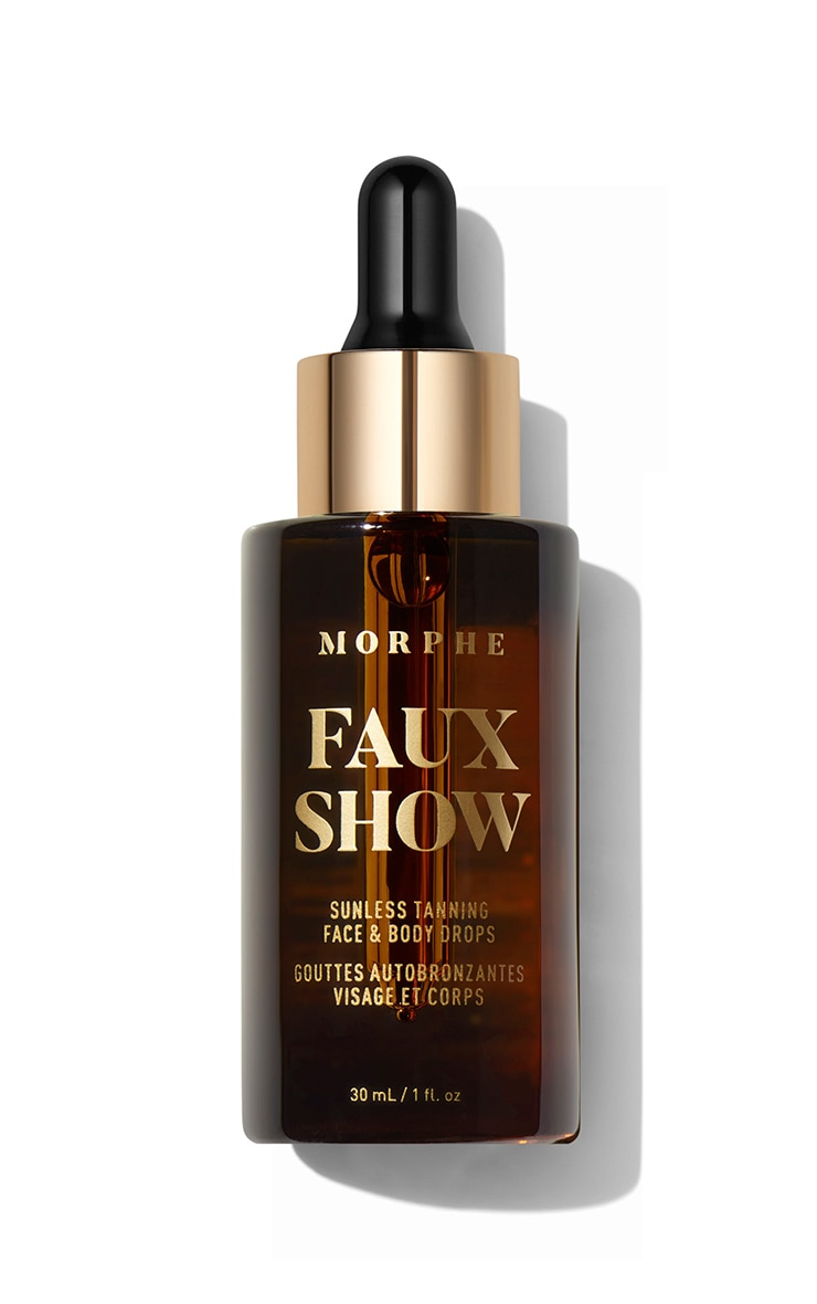Morphe Faux Show Sunless Tanning Face & Body Drops 4