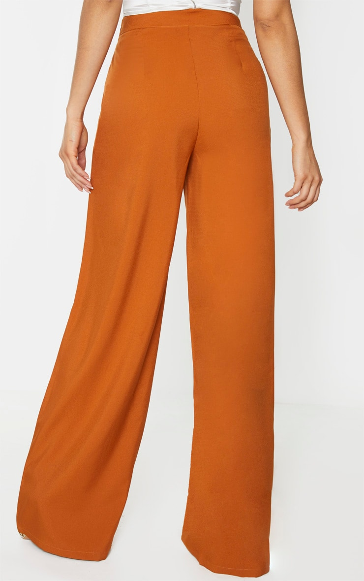 Tall Rust Extreme Wide Leg Trouser 3