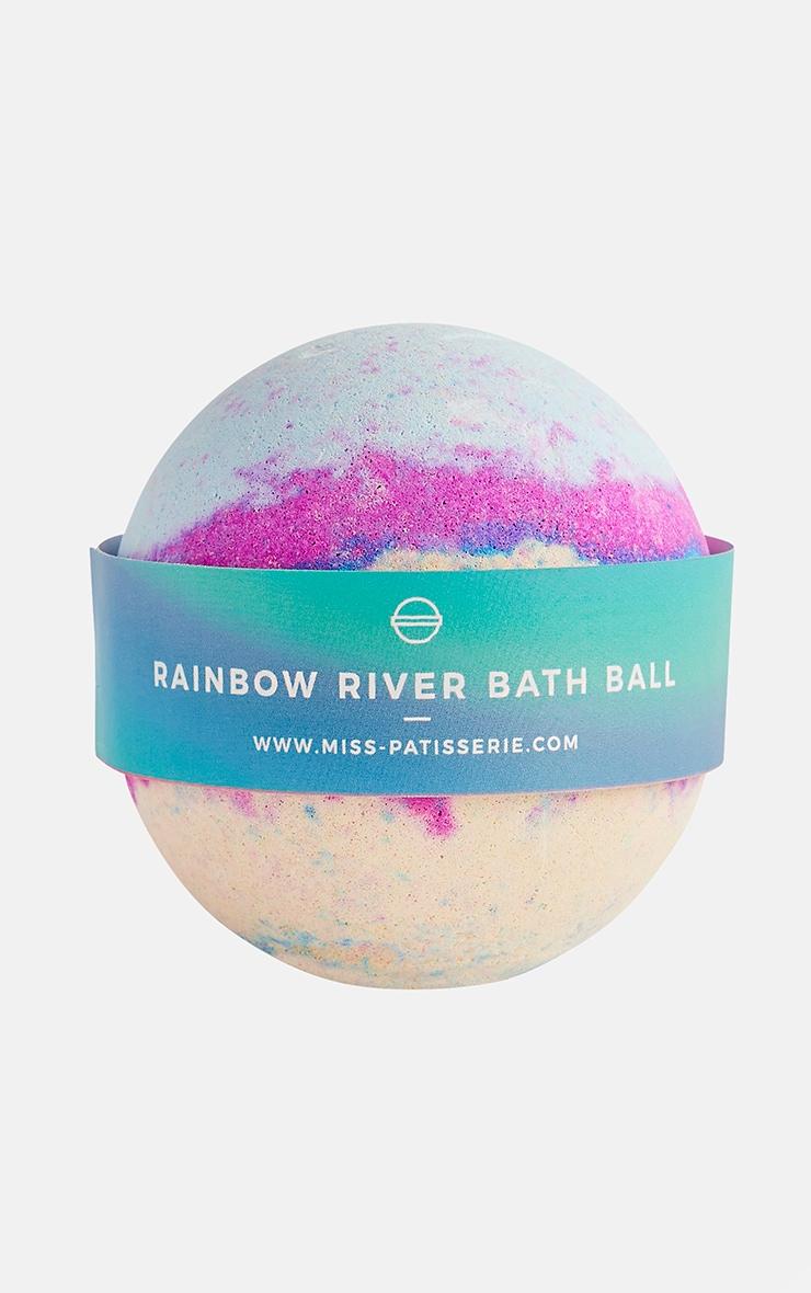 Bombe pour le bain rivière arc-en-ciel Miss Patisserie 4