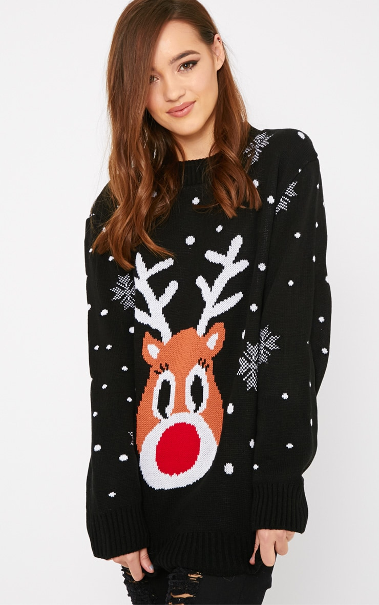 Lexie Black  Rudoloph Christmas Jumper  4