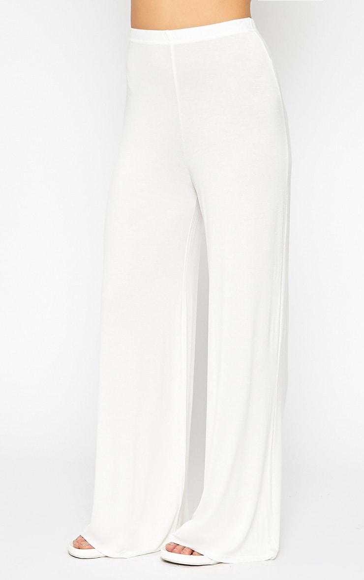 Radley Cream Wide Leg Trousers 4