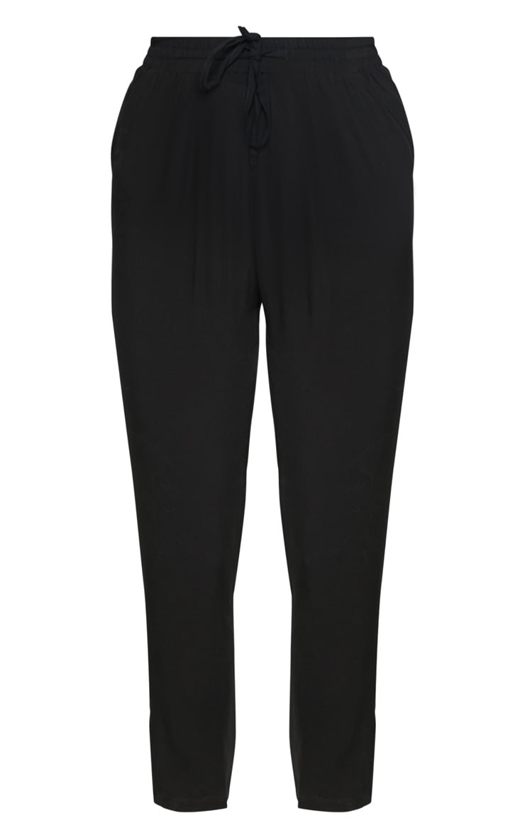 Diya Black Casual Trouser 3