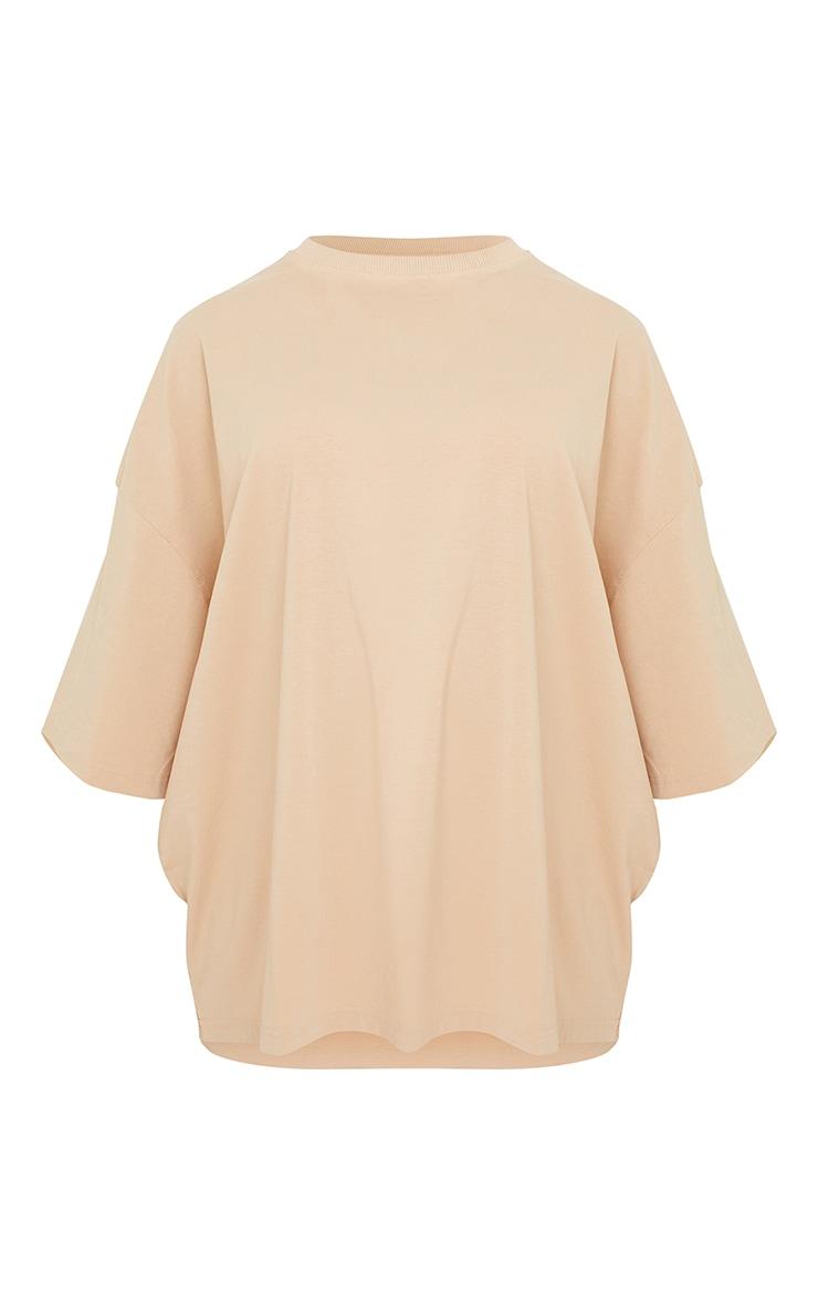 Maternity Stone Oversized Washed Cotton T-Shirt 5