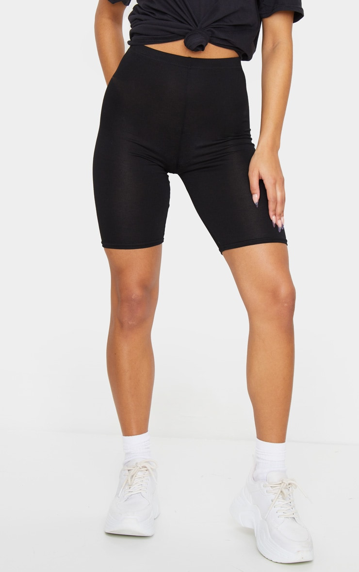 Black and Grey Basic Bike Short 2 Pack 2