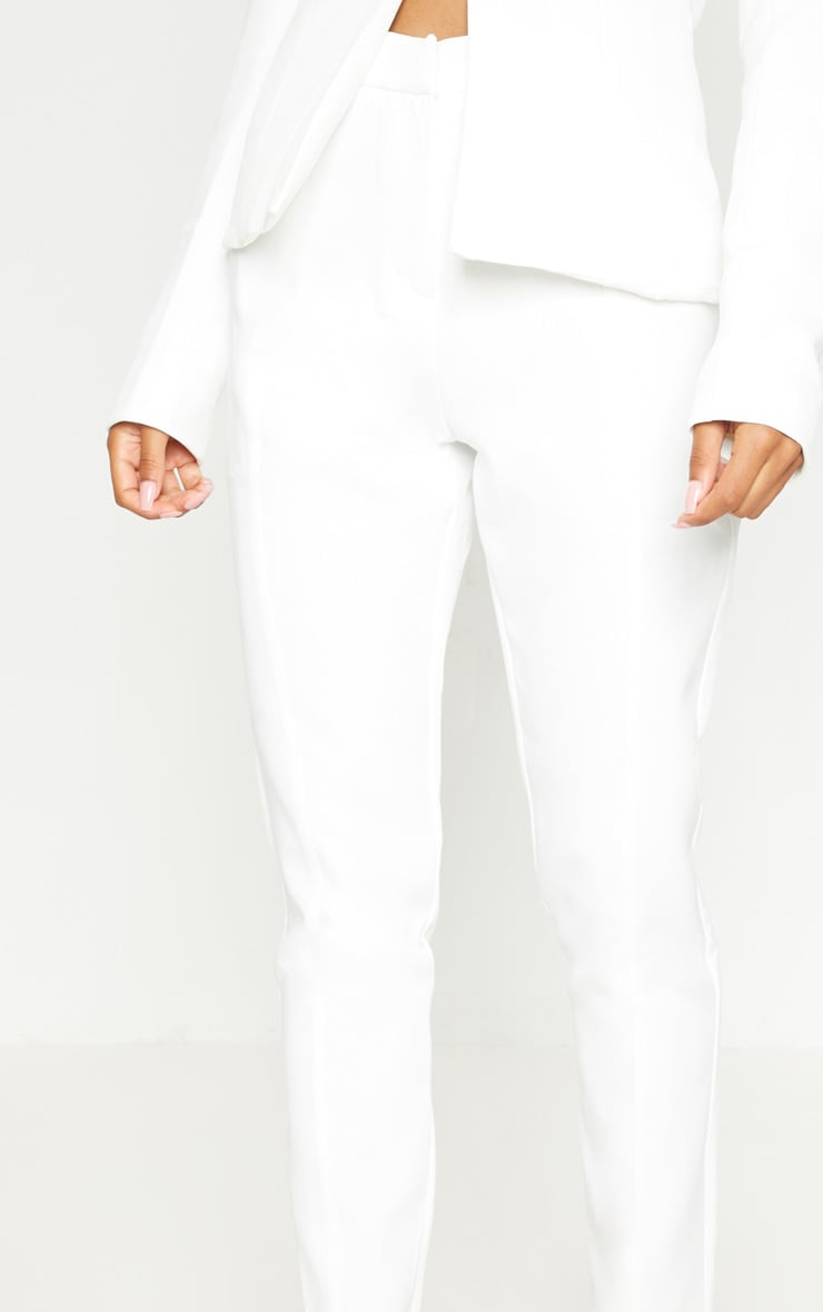 Avani Cream Suit Trousers 5
