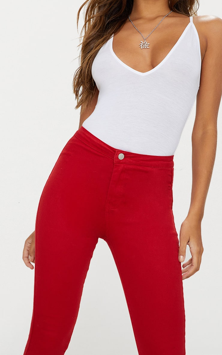 Red Disco Jean 5