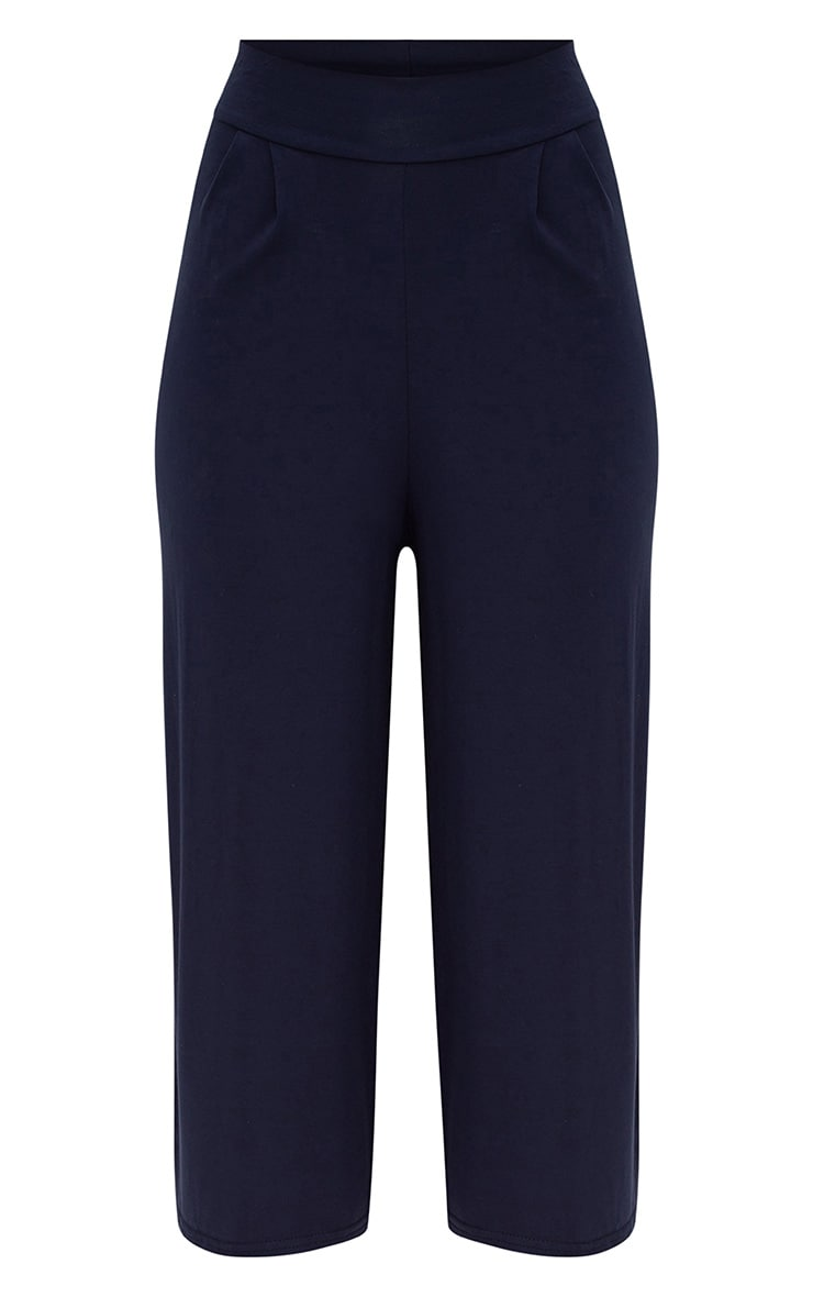 Navy Basic Culottes 3