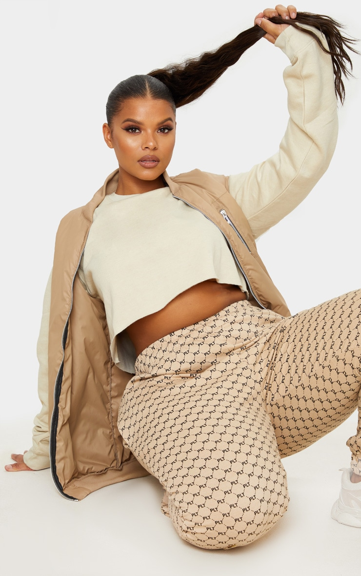 Plus Sand Ultimate Cropped Sweater 3