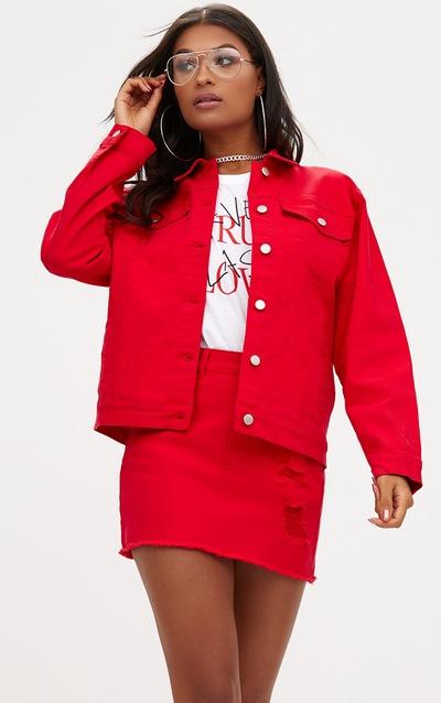 Denim Jacket Women S Denim Jackets Prettylittlething