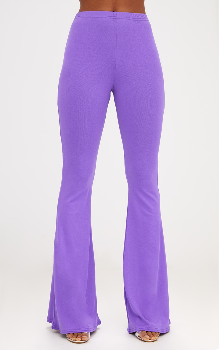 Purple Ultimate Flared Trousers 2