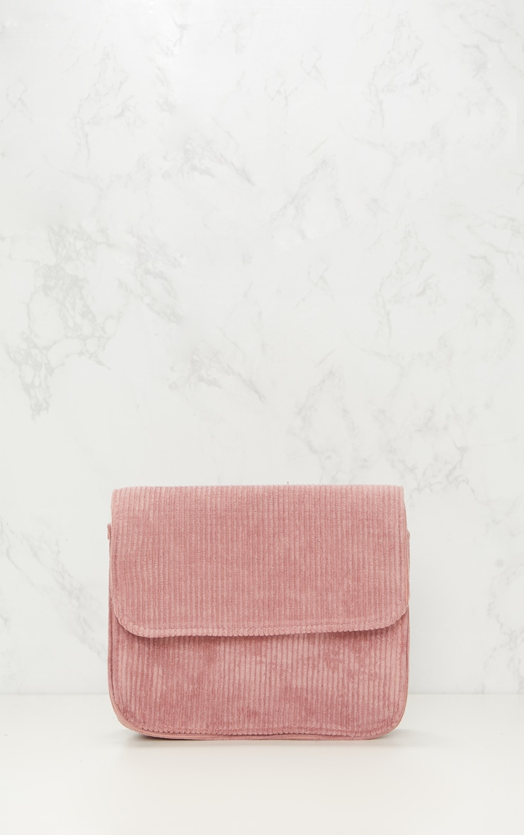 Rose Basic Corduroy Shoulder Bag 3