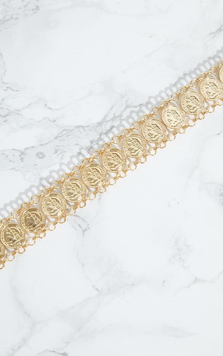 Gold Coin Choker 3