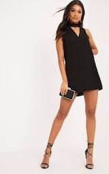05c49c5b0876 Cinder Black Choker Detail Loose Fit Dress image 4