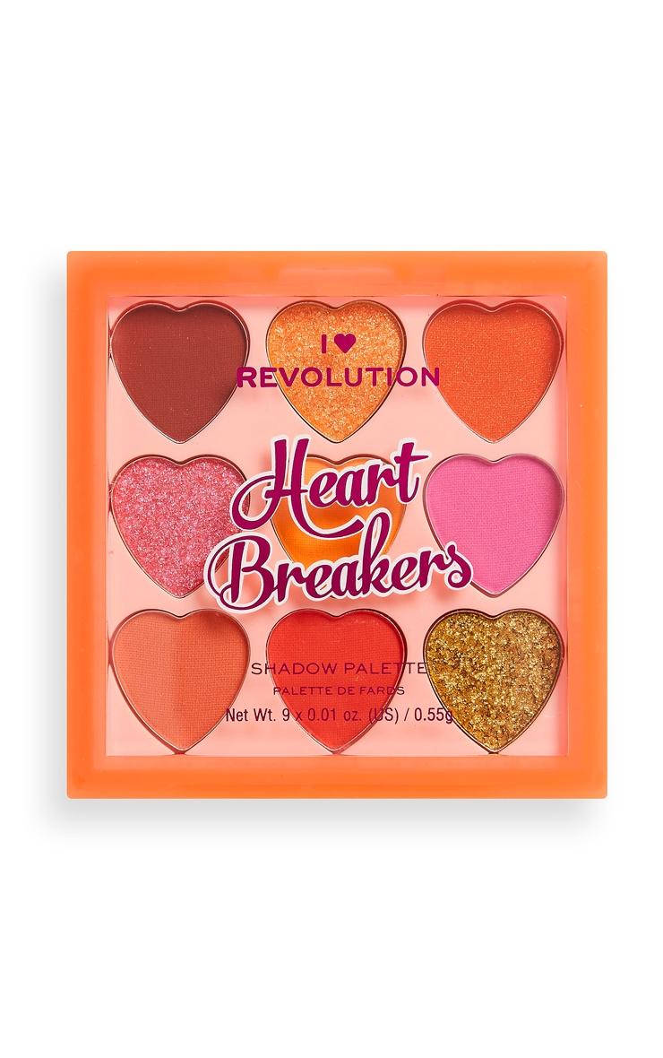 I Heart Revolution Heartbreakers Palette Fiery 2
