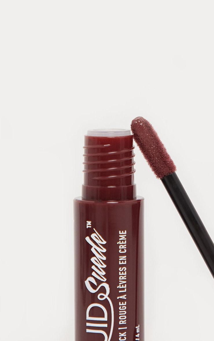NYX Professional Makeup Liquid Suede Cream Lipstick Vintage 3