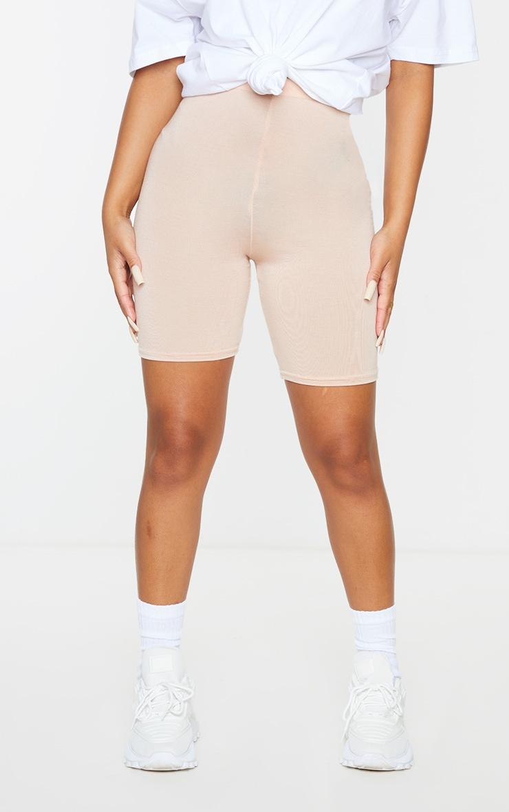 Petite Nude Basic Bike Shorts 2