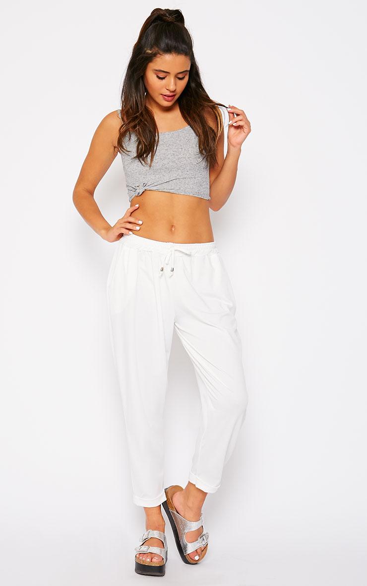 Connie Cream Trousers 1