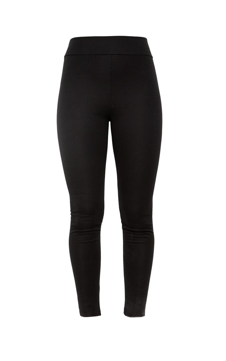 Black Ponte Highwaisted Leggings 3