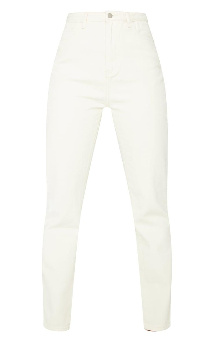 Unbleached Straight Leg Jeans 5