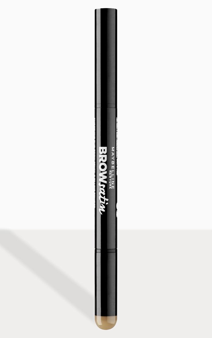 Maybelline Brow Satin Filling Pencil Pen + Filling Powder Duo Dark Blonde 1