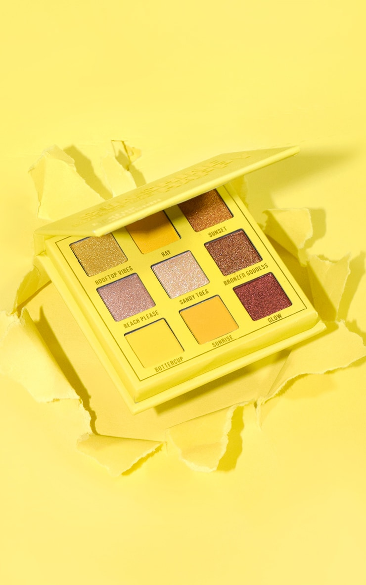Makeup Obsession Sunshine Makes Me Happy Shadow Palette 1