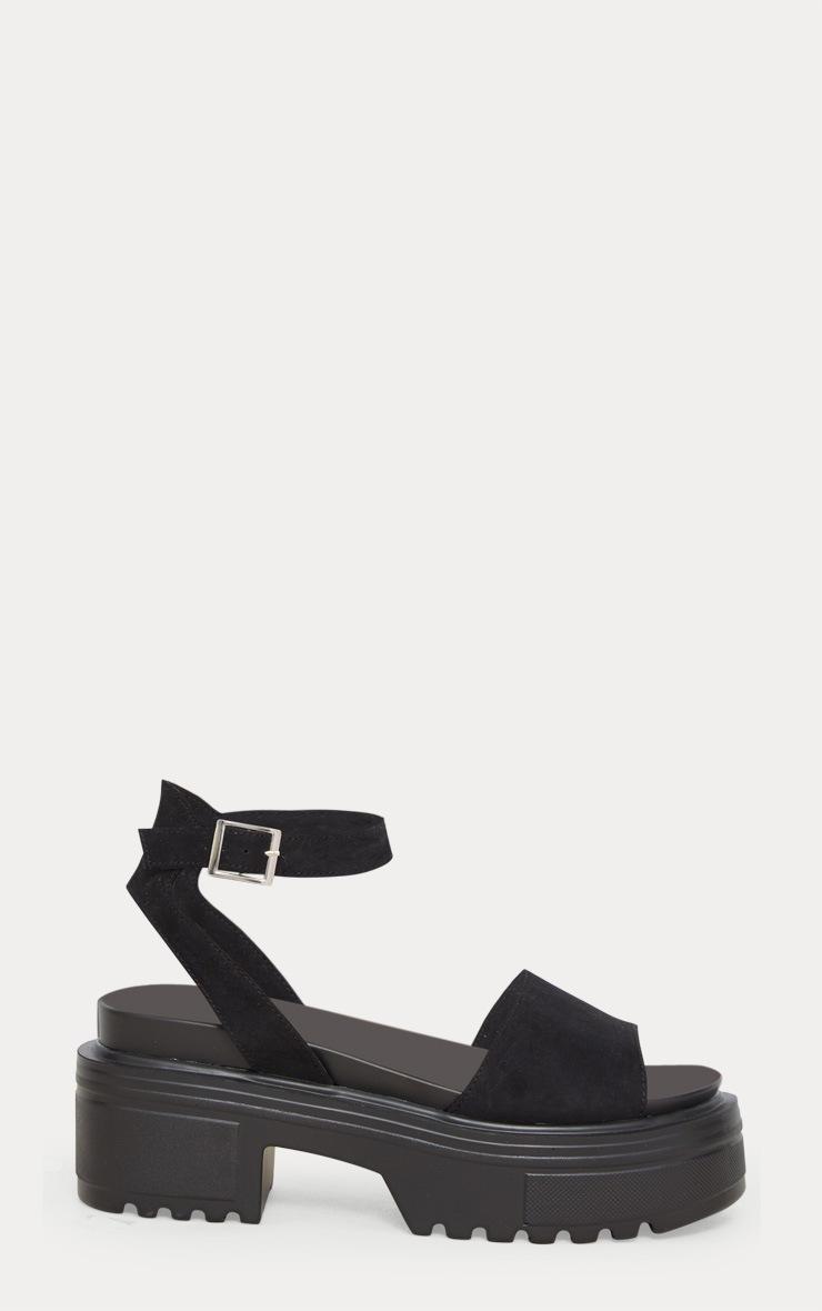 Black Chunky Sandal 3