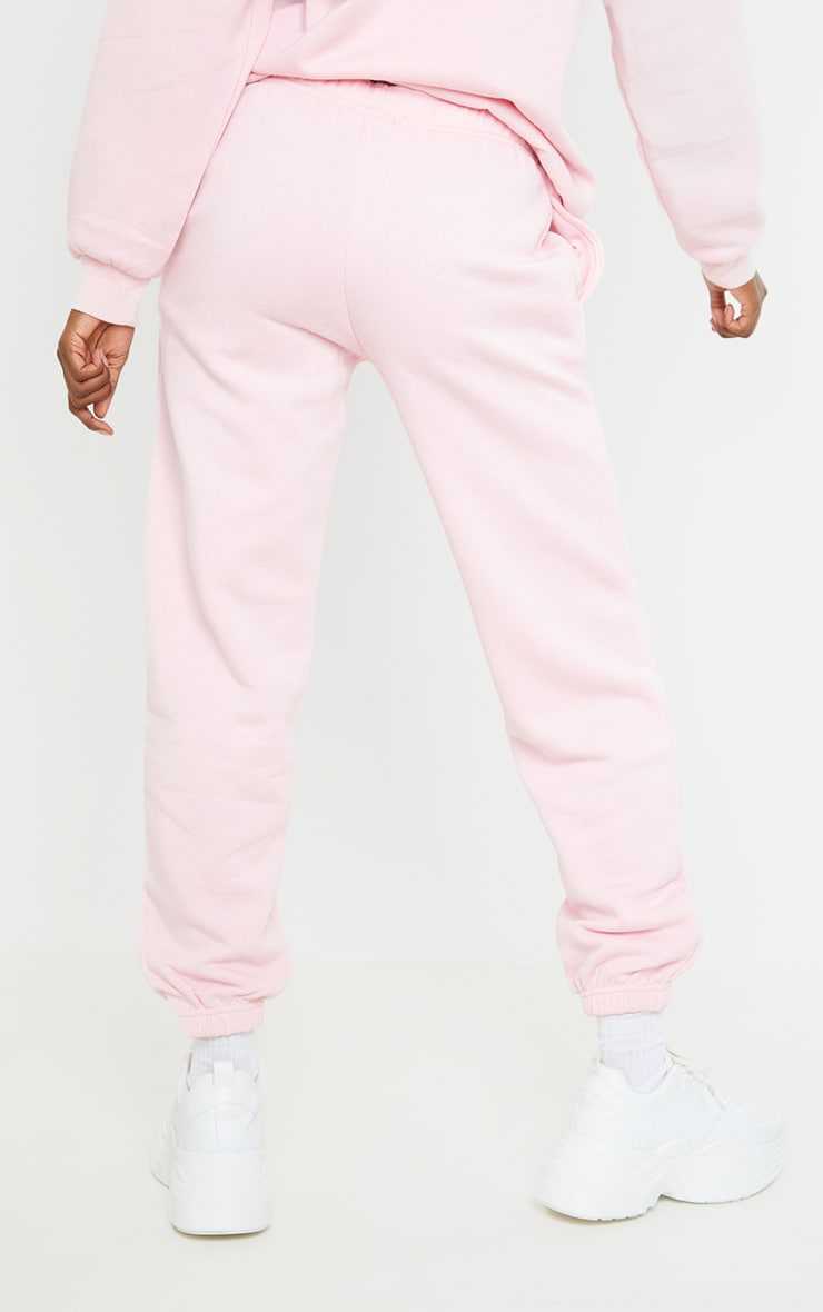 PRETTYLITTLETHING Tall Pink Studio Oversized Joggers 3