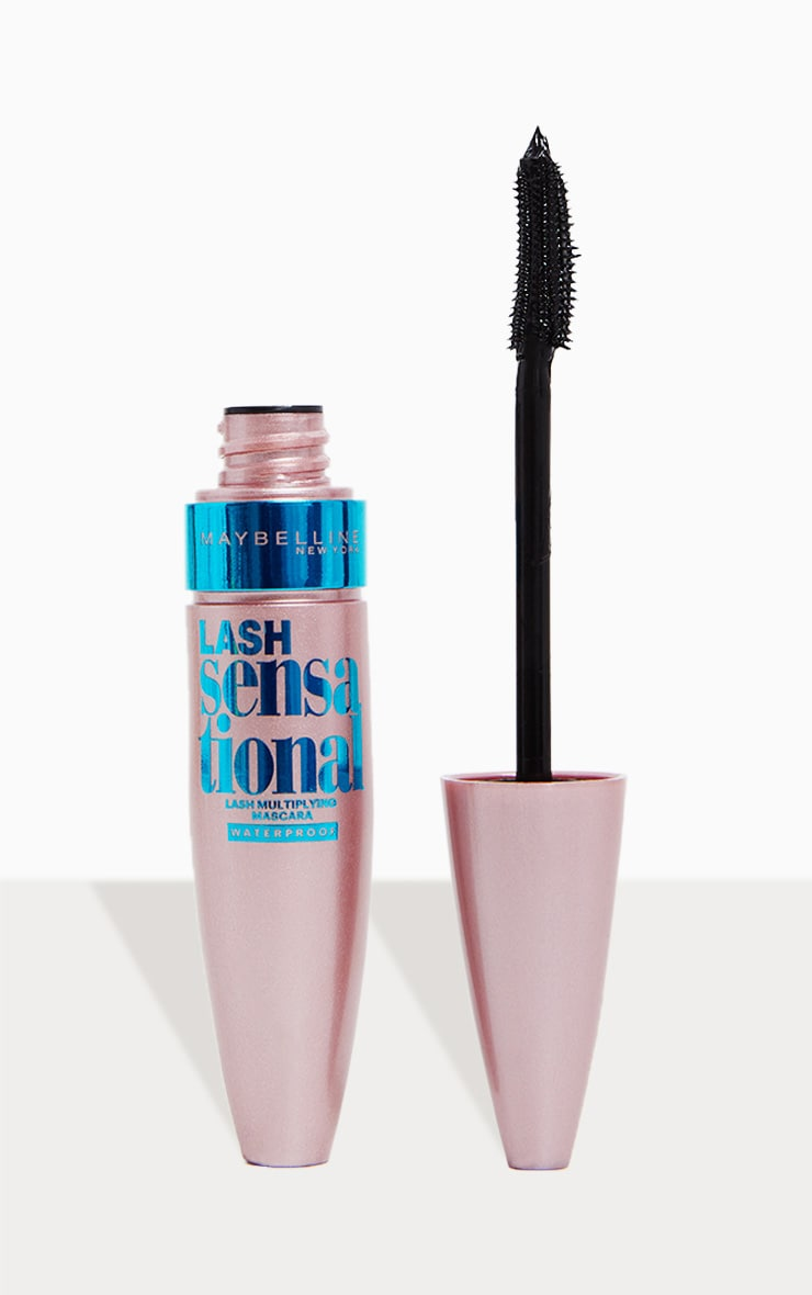 Maybelline Lash Sensational Waterproof Mascara Black 1