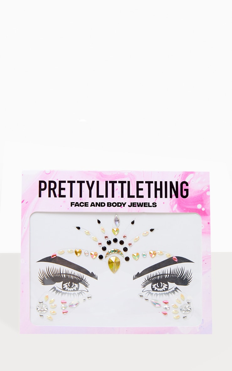 PRETTYLITTLETHING Bewitched Face Jewel 1