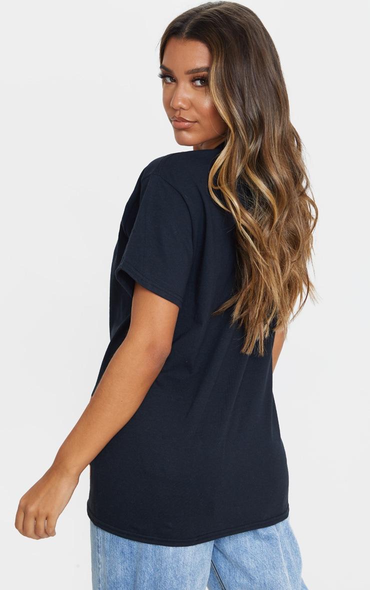 Lot de 2 tee-shirts oversize noirs classiques 2