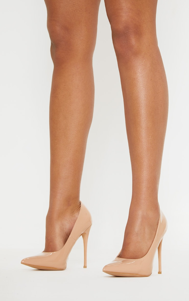 Light Nude Court Shoes 2