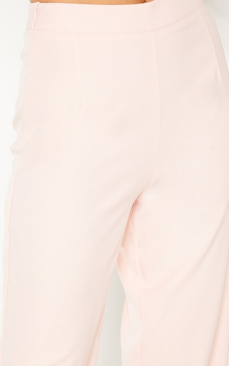 Tall Dusty Pink Wide Leg Slim Cuff Suit Pants 5