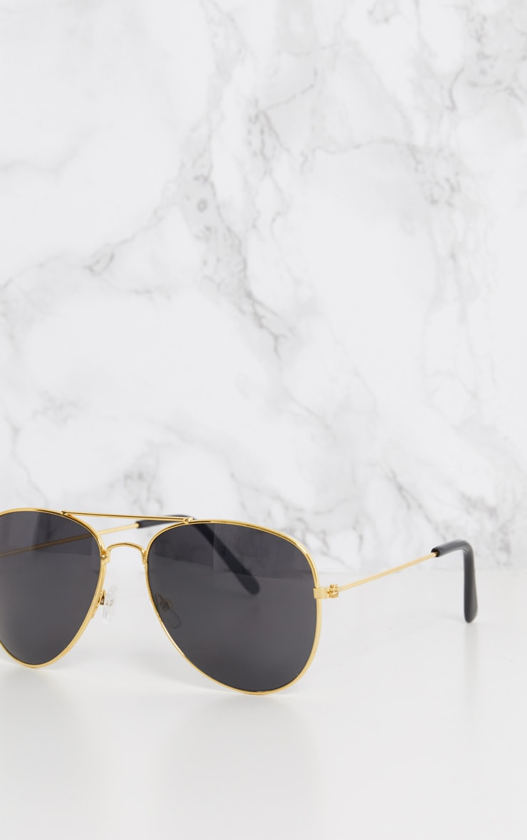 Gold Frame Aviator  5