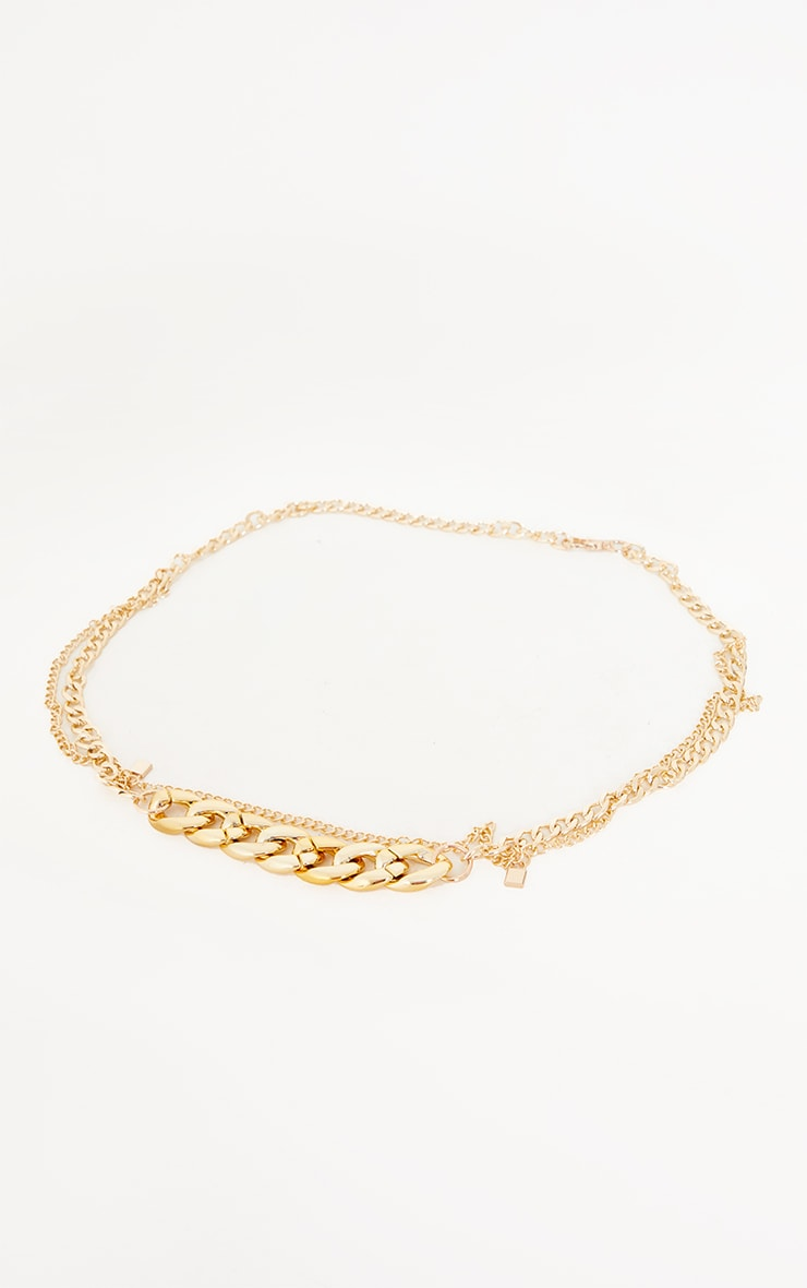 Gold Assorted Layering Chain Belt 2