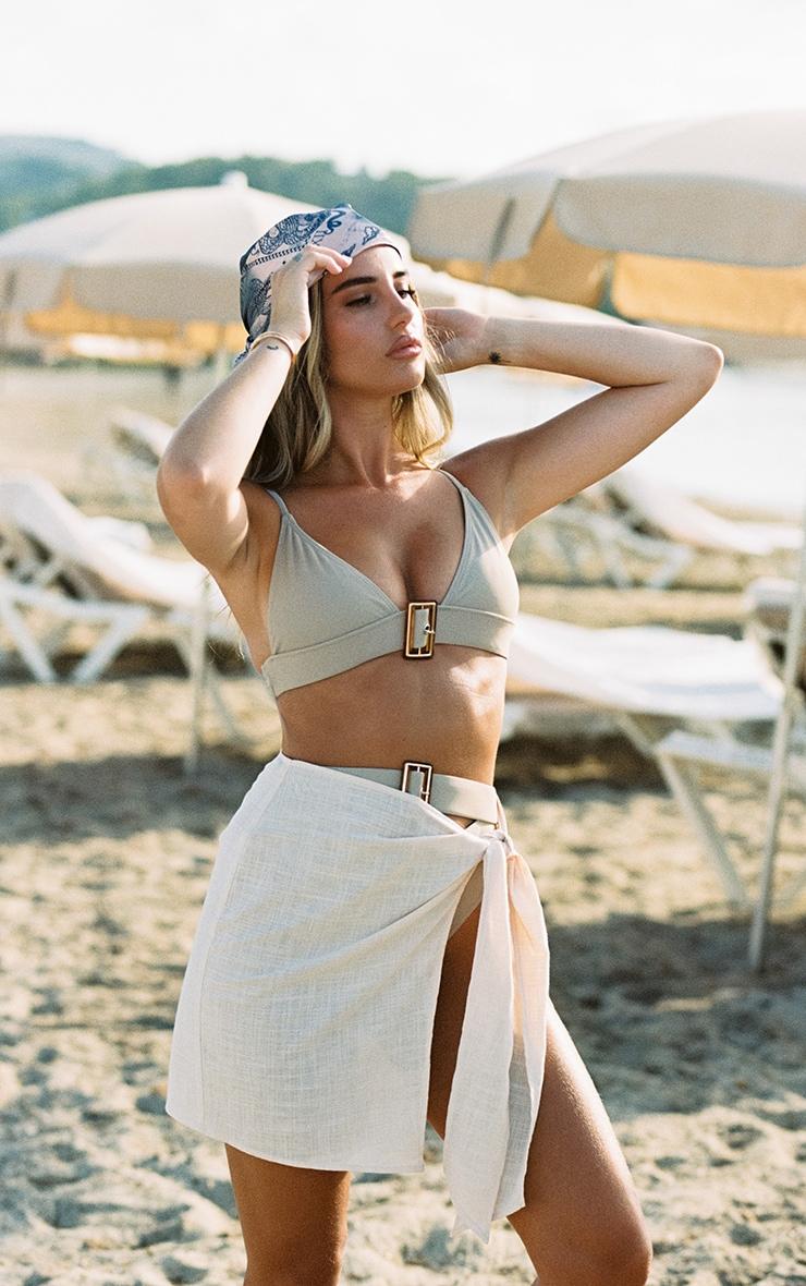 Sand Mini Tie Sarong 1