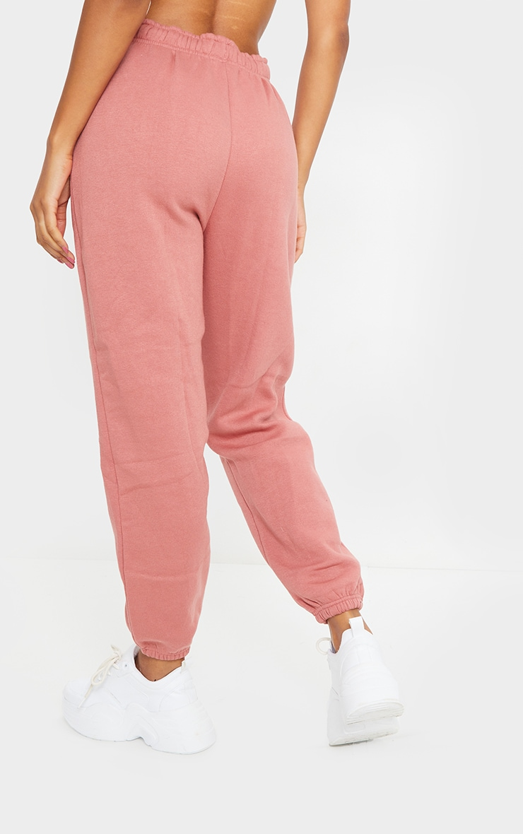 Dusty Pink Sweat Pant Joggers 3