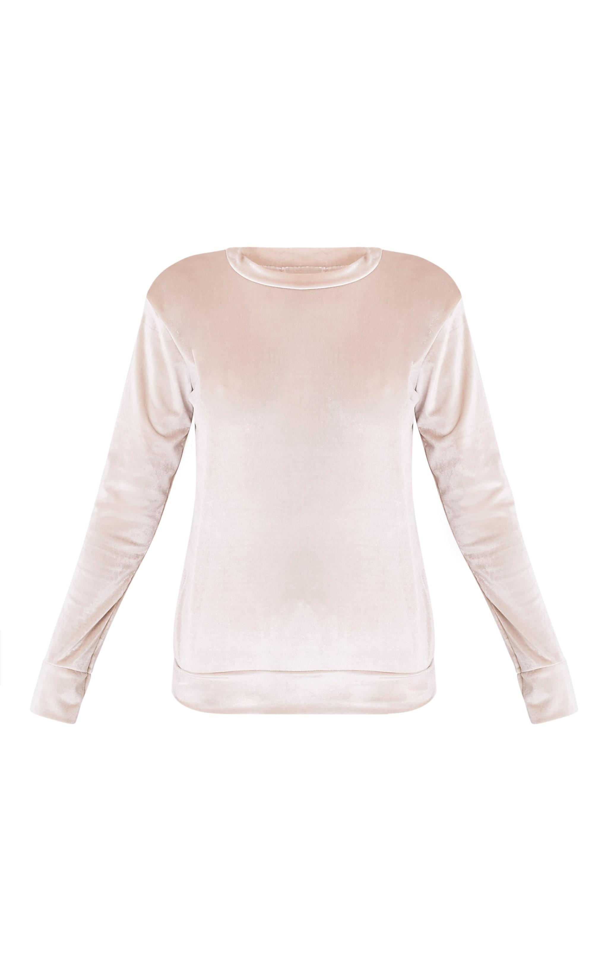 Justinna Stone Velvet sweater 3