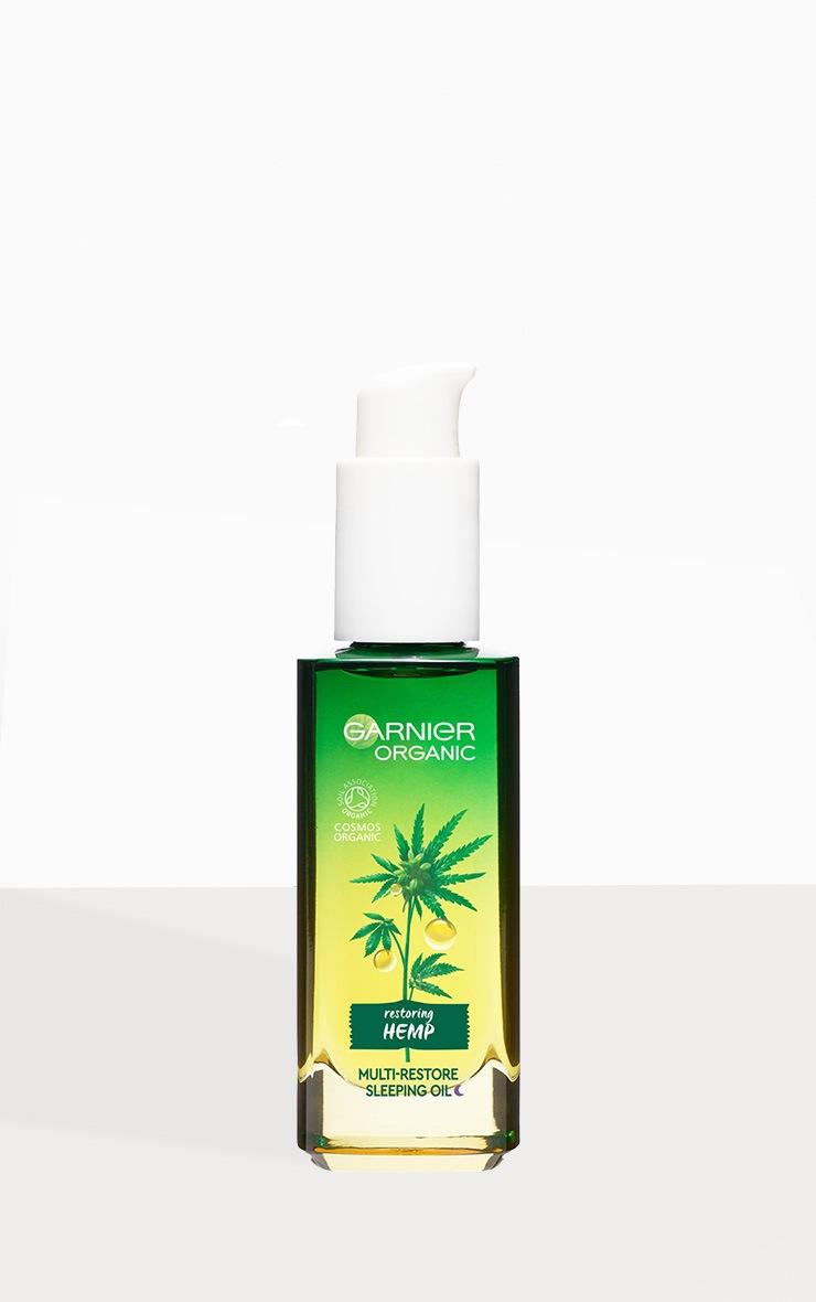 Garnier Organic Hemp Multi-Restore Facial Sleeping Oil 30ml 4
