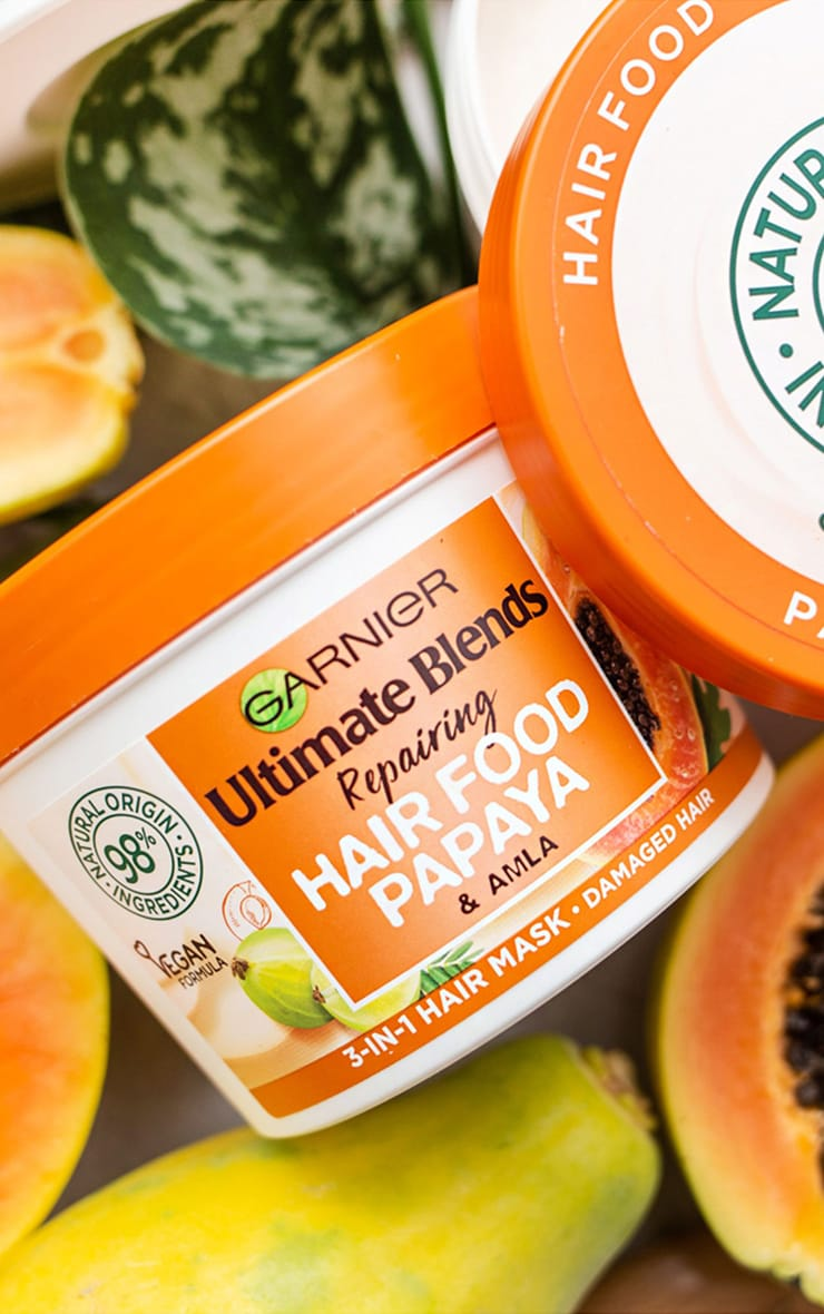 Garnier Ultimate Blends Hair Food Papaya 3-in-1 Damaged Hair Mask 3