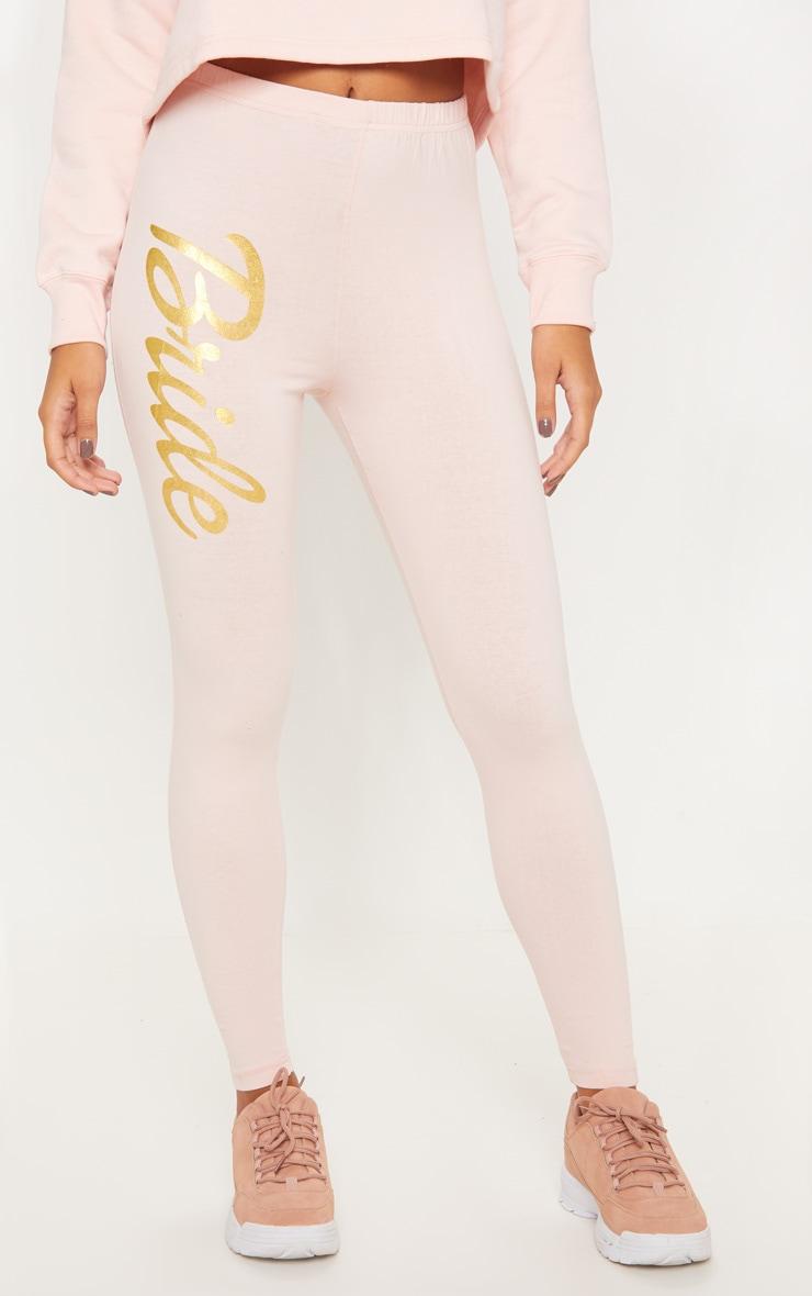 Blush Bride Slogan Legging 2