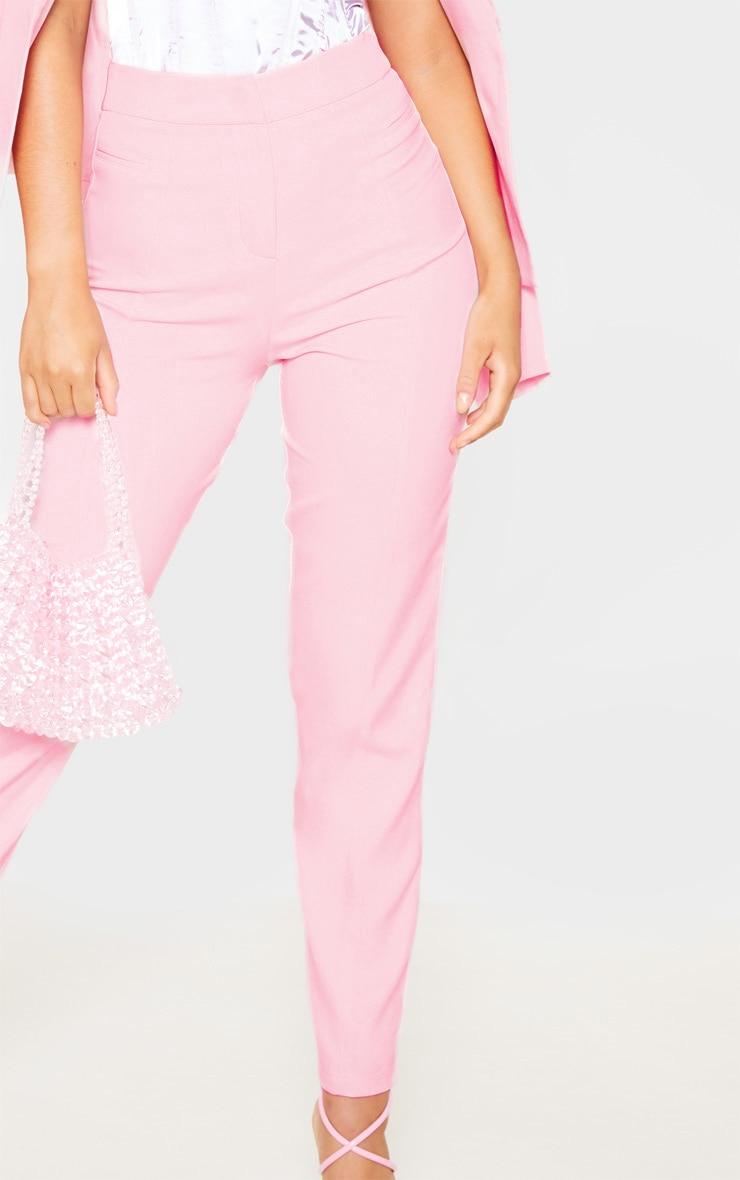 Avani pantalon de tailleur rose 5
